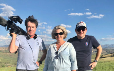7 a 8 French TV Show paid a visit to Jackal's Hill Fromage